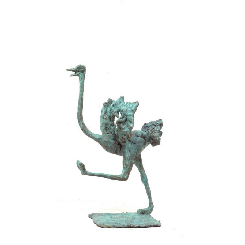 Hoofdfoto Vrolijke struisvogel (op bestelling)