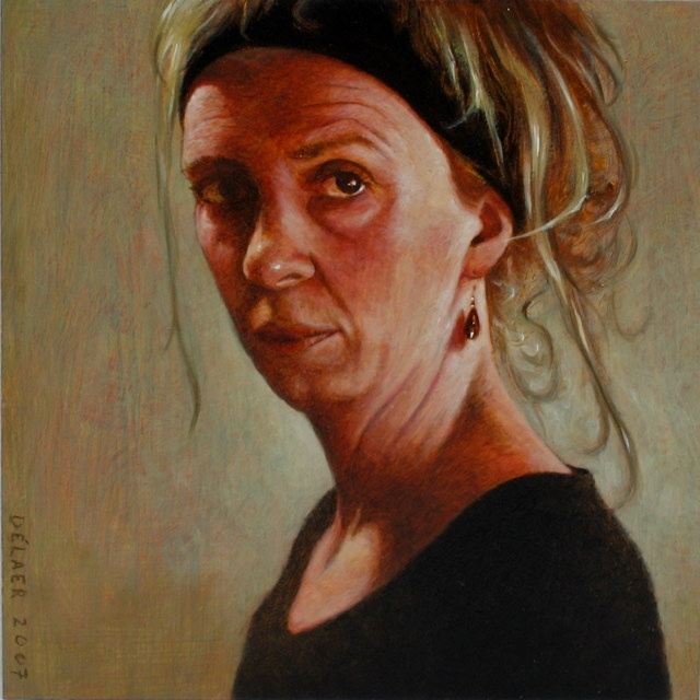 Hoofdfoto Mieke, vrouw met hoofdband