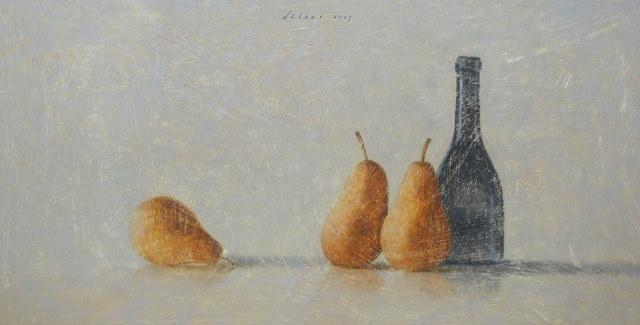 Hoofdfoto 3 peren met fles
