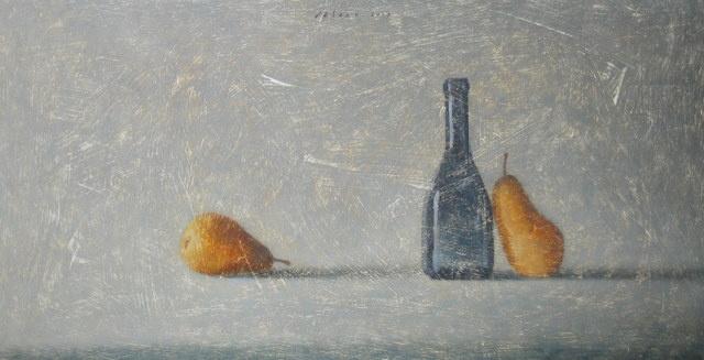 Hoofdfoto 2 peren met fles