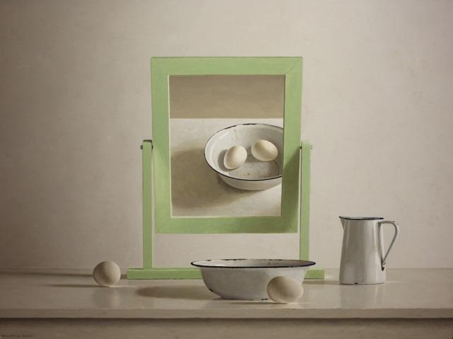 Hoofdfoto Spiegel en 4 eieren