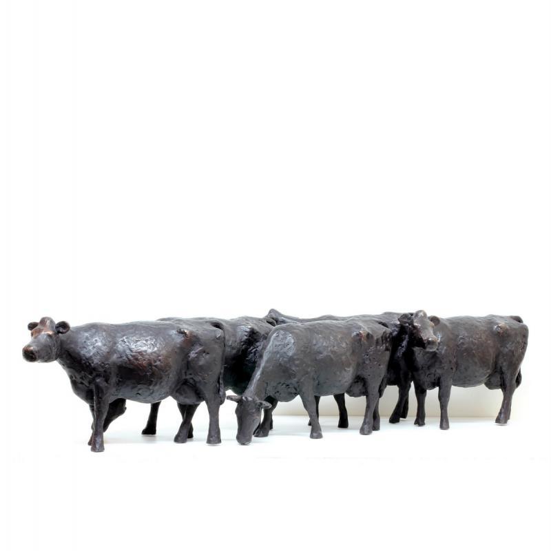 Hoofdfoto 5 grote koeien