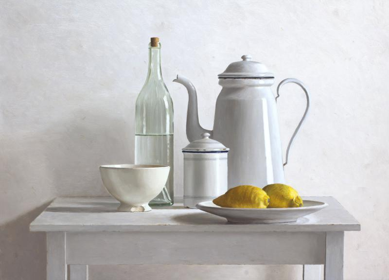 Hoofdfoto 2 citroenen op bord