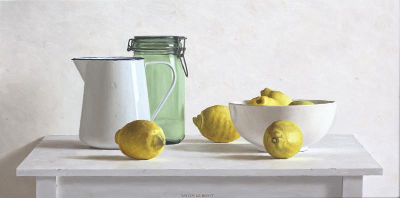 Hoofdfoto Kan, pot, komen en 6 citroenen