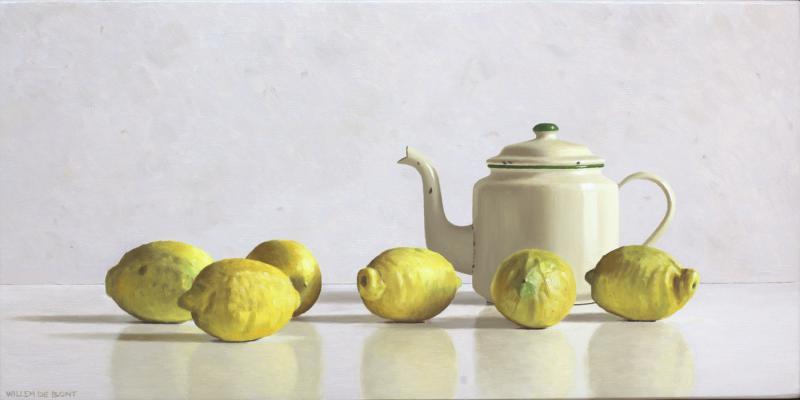 Hoofdfoto Theepot en 6 citroenen