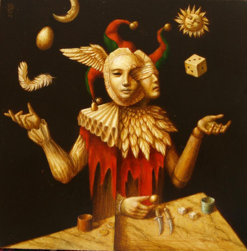 Hoofdfoto The juggler