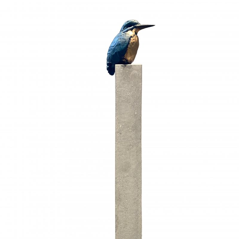 Hoofdfoto IJsvogel 1 recht (hoge sokkel)