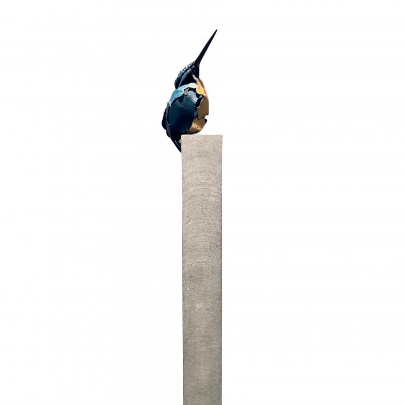 Hoofdfoto IJsvogel 3 (hoge sokkel)