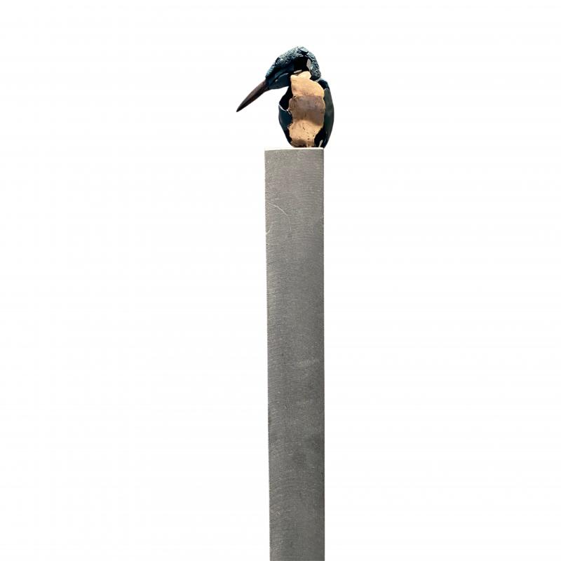 Hoofdfoto IJsvogel 5 (hoge sokkel)