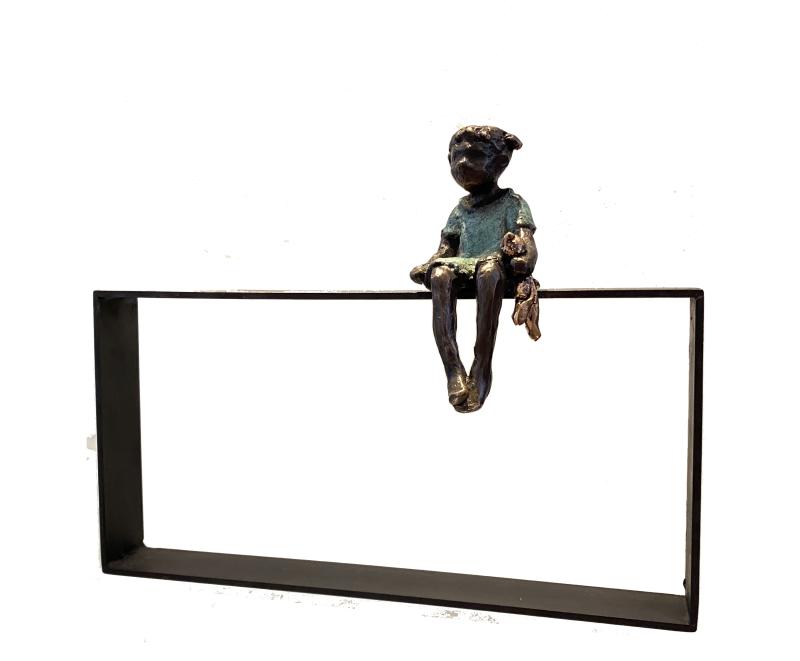 Hoofdfoto Knuffel op hekje