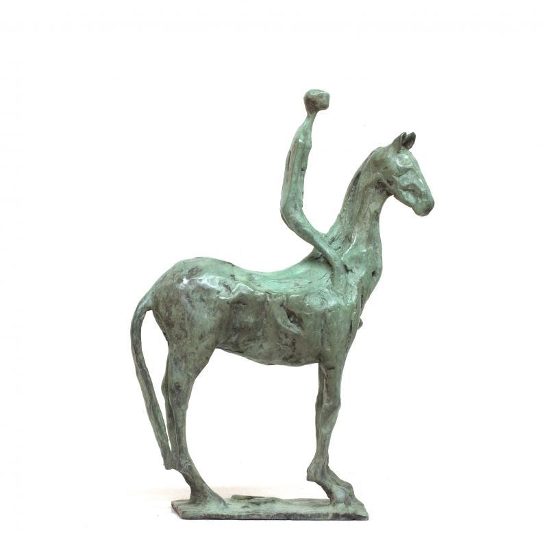 Hoofdfoto Paard met ruiter